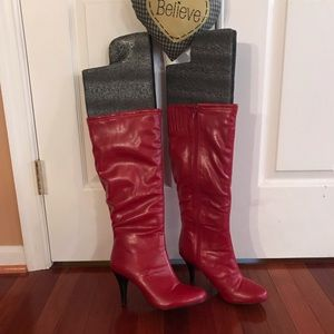 Pre-owned Red Diba boots